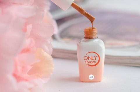 Гель-лак Only French, Orange Touch №618, 7ml