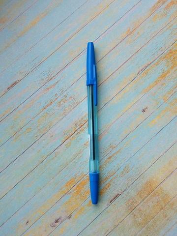 061-7984 Ручка шариковая, узел 0.7мм, чернила синие