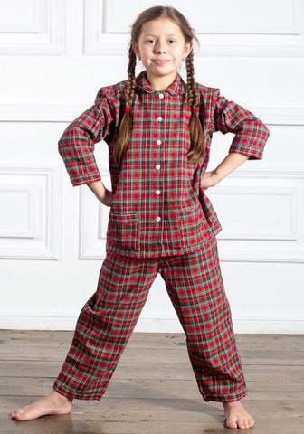 Стильная детская пижама из натурального хлопка
