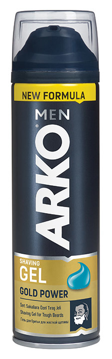 Гель для бритья ARKO Men Gold Power