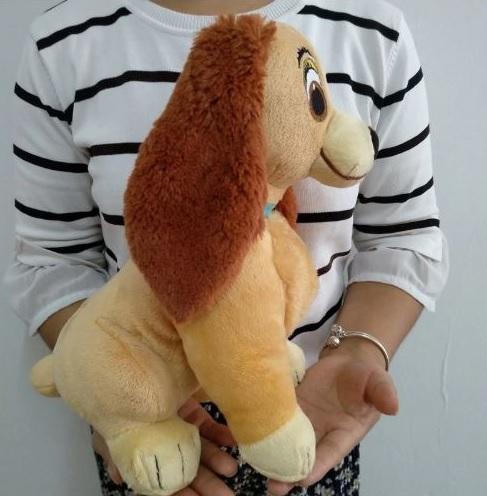 Дисней Леди и Бродяга мягкая игрушка собачка Леди