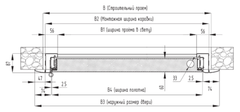 Стальные двери ЭКО-880-S,правая  DoorHan (Россия)