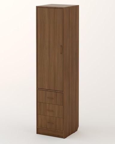 Шкаф-пенал АЯС-01 орех темный