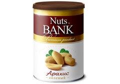 Арахис соленый Nuts Bank, 200г