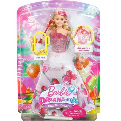 Барби Принцесса Свитвиля с эффектами. Дримтопия