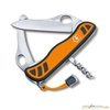 Нож перочинный Victorinox Hunter XS One Hand 111мм 5 функций с фикс оранжево-черный (0.8331.MC9) нож перочинный victorinox hunter pro 111мм черный 0 9410 3