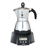 Кофеварка гейзерная электрическая Bialetti &#34Moka timer&#34 240 мл, артикул 6093, производитель - Bialetti