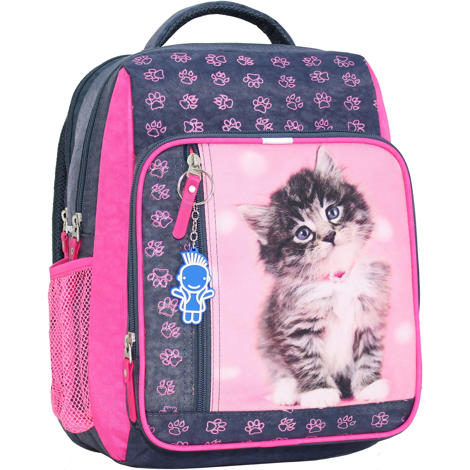 Школьные рюкзаки Рюкзак школьный Bagland Школьник 8 л. Серый (кот 65) (00112702) IMG_9235_суб.65Д_.JPG