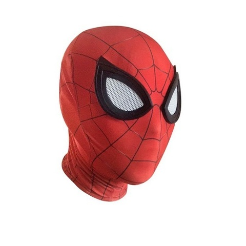 Мстители маска тканевая Человек Паук в ассортименте