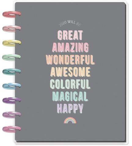 Ежедневник 2020г. Classic Happy Planner®  -19,5х24,5см-  Pastel Dreams