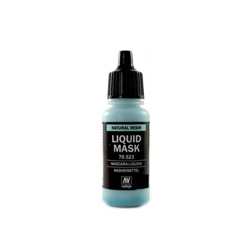 Вспомогальные жидкости 70523 Liquid Mask Маскировочная Жидкость, 17мл Acrylicos Vallejo V70523.jpg