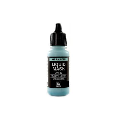70523 Liquid Mask Маскировочная Жидкость, 17мл Acrylicos Vallejo