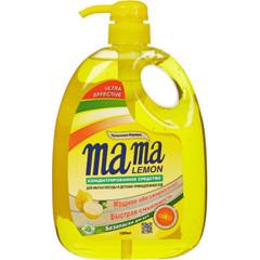 Конц.гель д/мытья посуды Mama Lemon  Gold 1000 мл