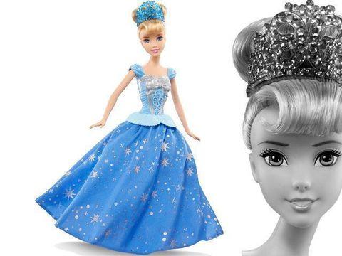 Кукла Золушка Принцесса Диснея,  с развевающейся юбкой