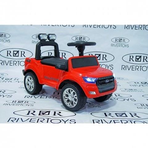 Электромобиль Rivertoys Ford Ranger DK-P01 красный
