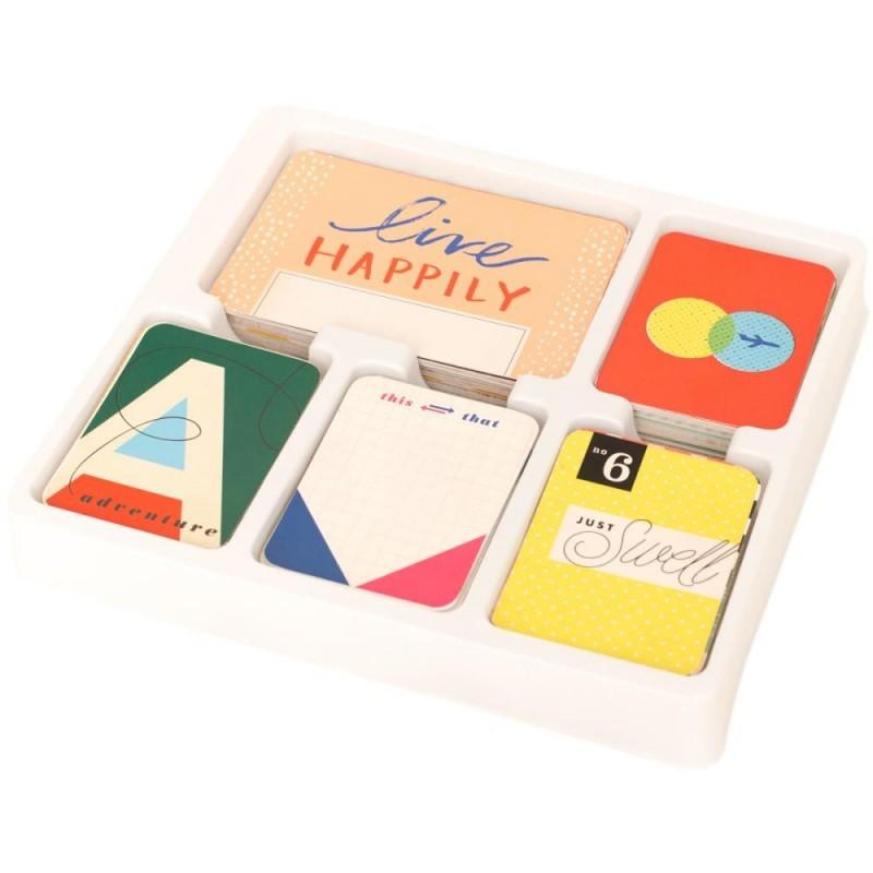 Forever young edition CORE KIT- комплект карточек для Project Life 616шт