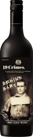 19 Crimes. Behind Bars Red