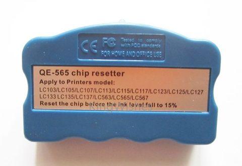 Программатор (ресеттер) для Brother MFC-J3720, MFC-J3520, MFC-J2510, MFC-J2310 для сброса картриджей LC-563, LC-565, LC-567, LC-569.