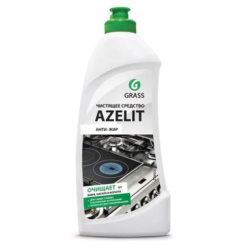 Средство для чистки плит Azelit Антижир 500мл гель СВЧ,грили,коптильни