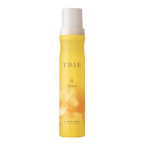 Lebel Trie Wave Foam 4 - Пена для укладки волос легкой фиксации