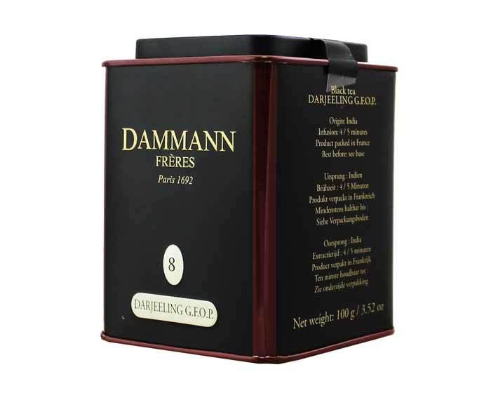 Чай черный Dammann Darjeeling GFOP, 100 г (Дамманн)