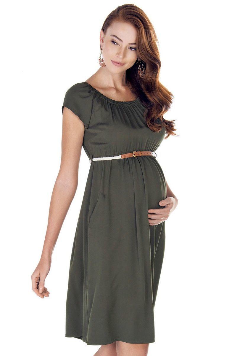 Платье 09426 зеленый
