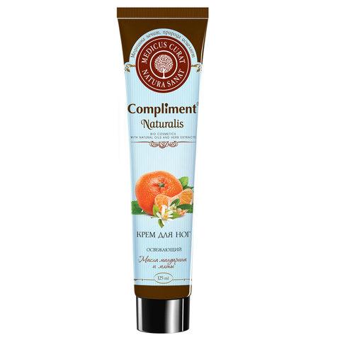 Compliment Naturalis Крем для ног тонизирующий с ментолом