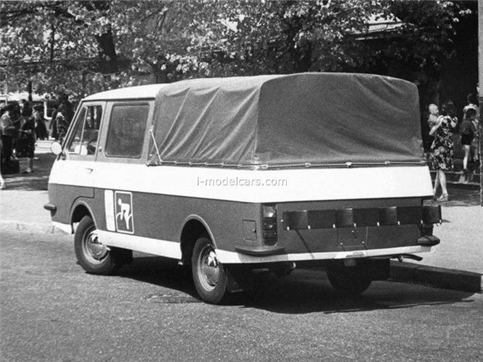 RAF-2909 Olympic pickup double cabin 1979 1:43 DeAgostini Auto Legends USSR #234