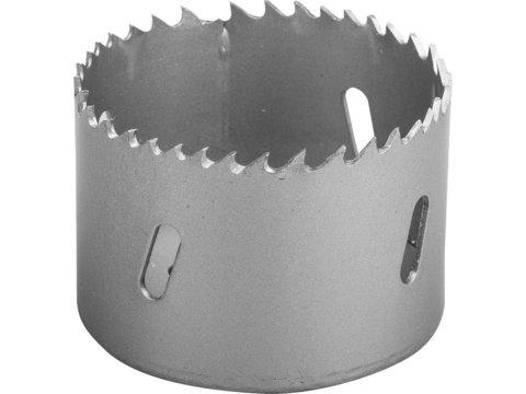 ЗУБР 64мм, коронка биметаллическая, быстрорежущая сталь