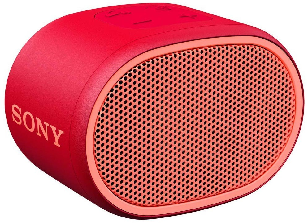 Портативная колонка Sony SRS-XB01, цвет красный
