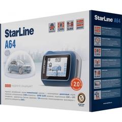 Автомобильная сигнализация StarLine A64 CAN