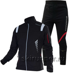 Лыжный костюм Noname Flow in Motion Softshell Black
