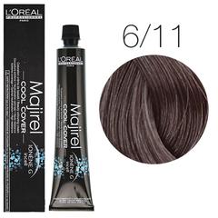 L'Oreal Professionnel Majirel Cool Cover 6.11 (Темный блондин глубокий пепельный) - Краска для волос