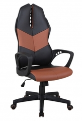 Кресло офисное iWheel — черный/коричневый