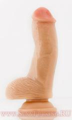Анальный фалоимитатор телесный (10,00 х 2,60 см)