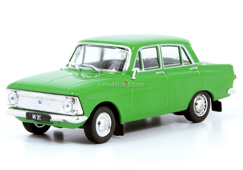 IZH-412IE green 1:43 DeAgostini Auto Legends USSR #136