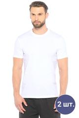 Две мужских футболки белого цвета