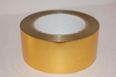 Лента металл (5см*50ярд) золото