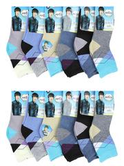 C461 носки детские (12 шт), цветные