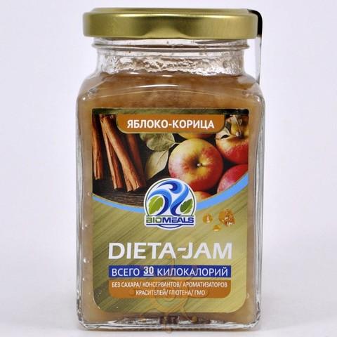 Джем диетический яблочный с корицей Biomeals, 230г