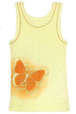 Basia Майка для девочки К1116-3996 желтая