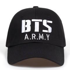 Кепка BTS ARMY (Бейсболка) черная
