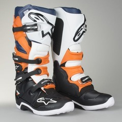 Мотоботы Alpinestars Tech 7 Boots Black/Orange/White 9 (43)