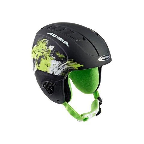 шлем горнолыжный Alpina CARAT black-green