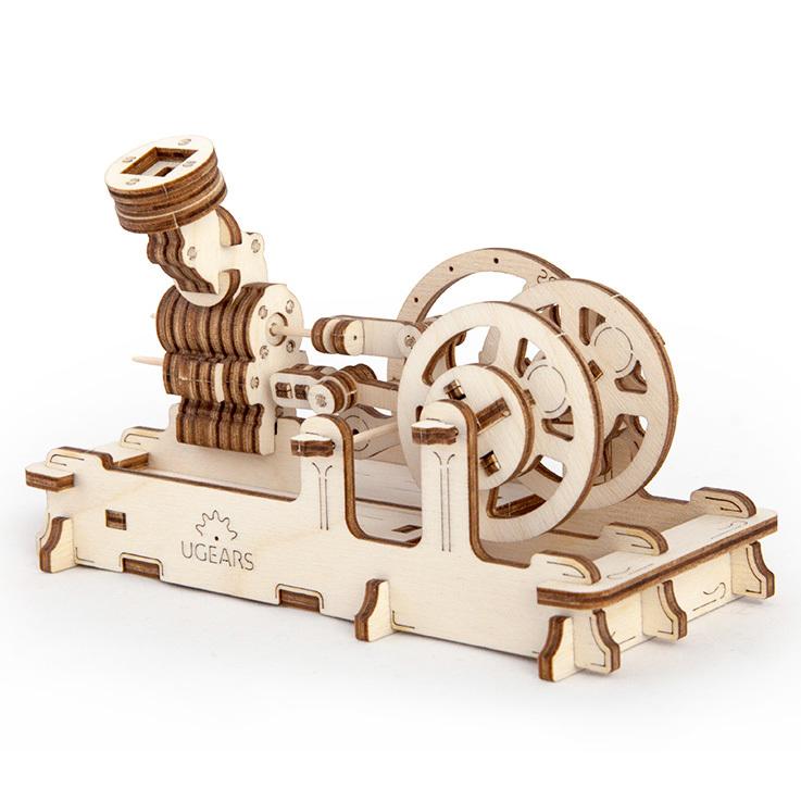 Конструктор 3D-пазл Ugears - Пневматический двигатель U-70009