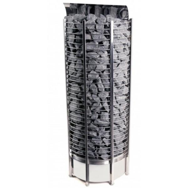 Фото - Серия Tower: Электрическая печь SAWO TOWER TH9-120NS-WL-P (12 кВт, выносной пульт, пристенная) серия tower электрическая печь sawo tower th6 120ni wl p 12 квт выносной пульт встроенный блок мощности пристенная