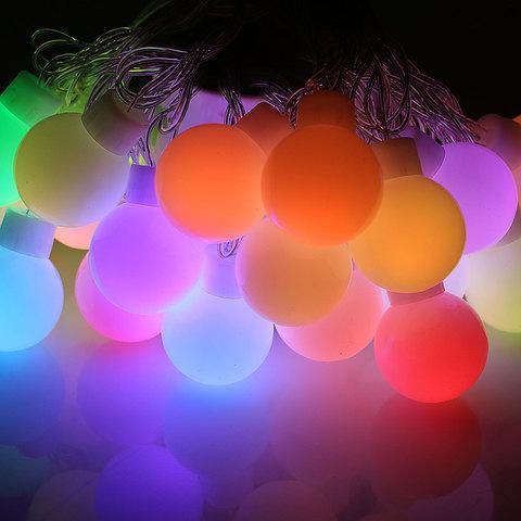 Шары светодиодные больших размеров LED