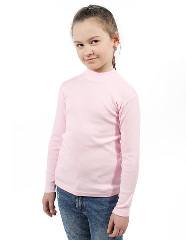 Basia Джемпер водолазка Н727 розовый