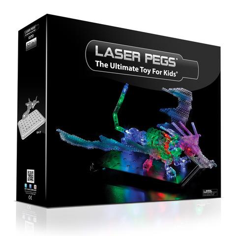 Конструктор «Дракон» 57 в 1 от Laser Pegs (1070)