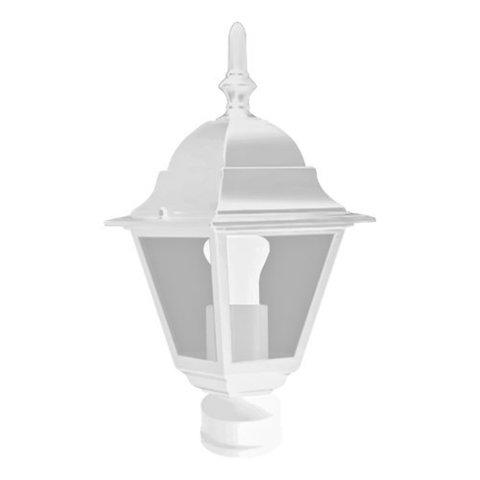 Светильник садово-парковый, 60W 230V E27 белый, 4103 (Feron)